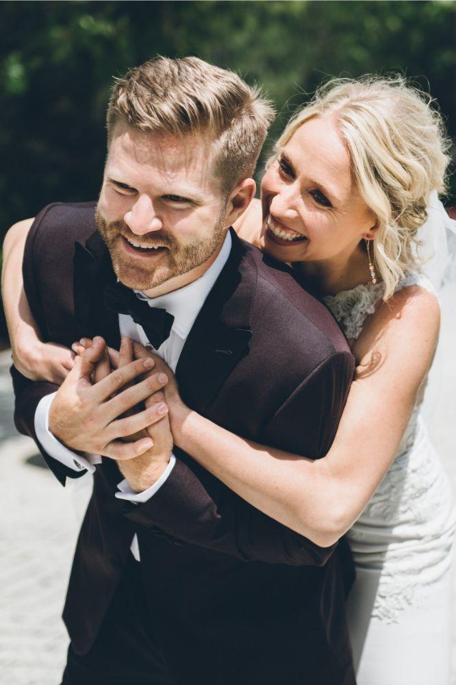 alison eric bridgeport art center chicago, il wedding bride and groom first look