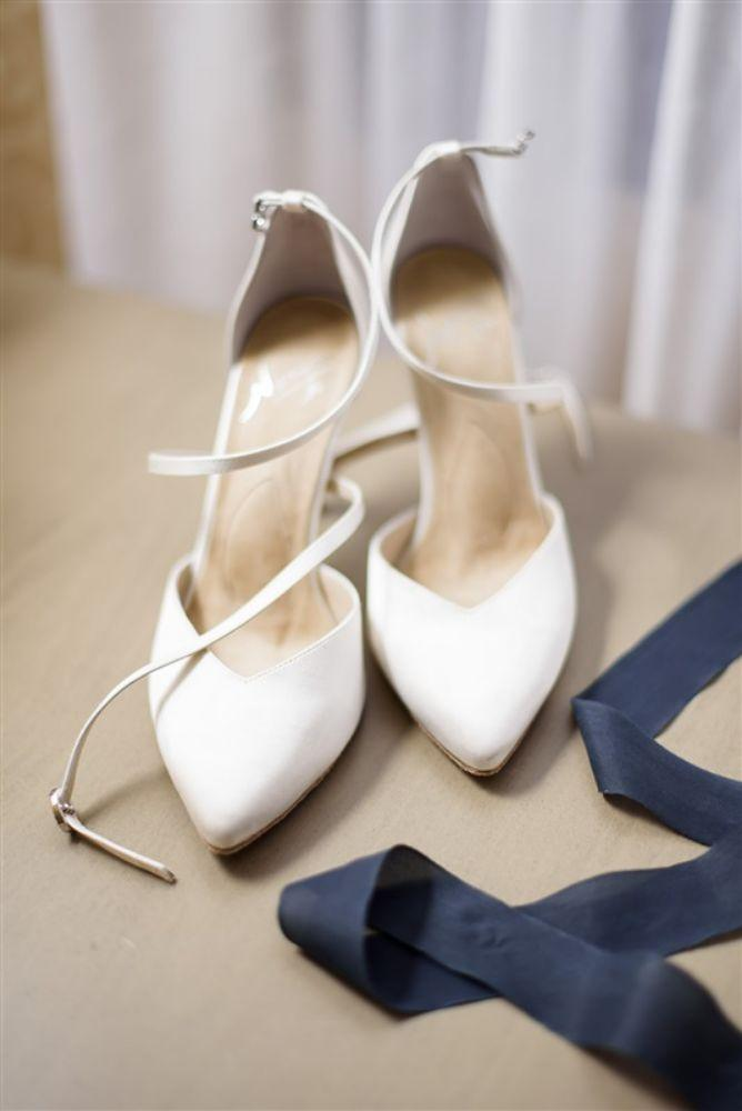abby ian Union League Club of Chicago bridal shoes