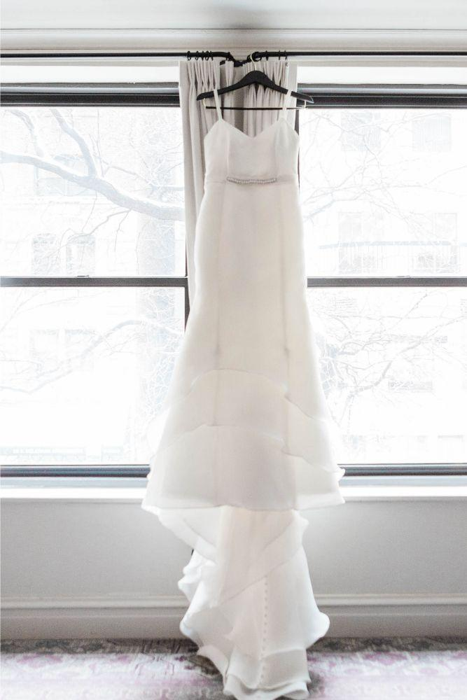 emily nick artifact events chicago, il wedding gown