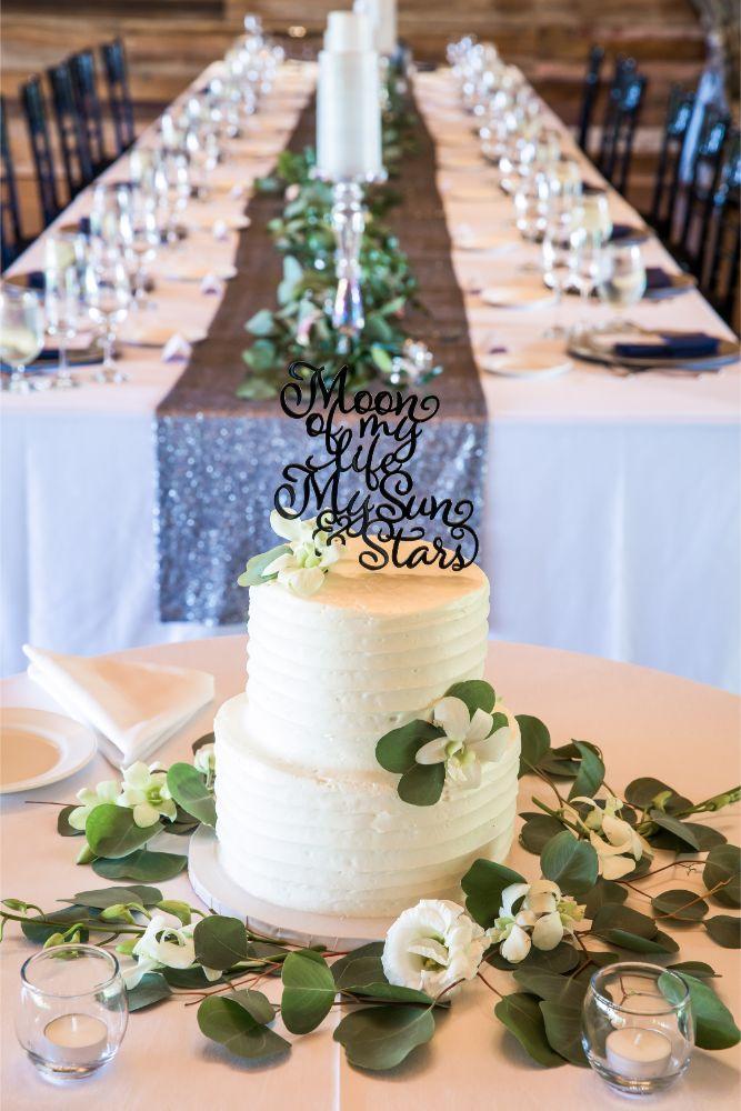 lindsay demetrius fisherman's inn chicago il wedding cake