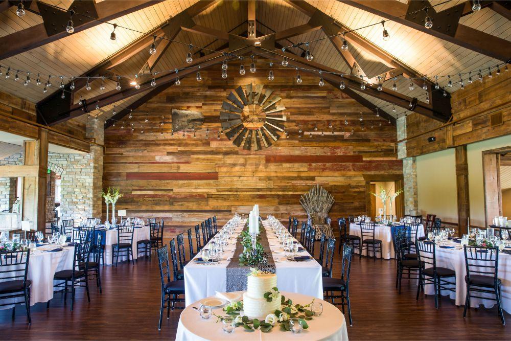 lindsay demetrius fisherman's inn chicago il wedding reception details