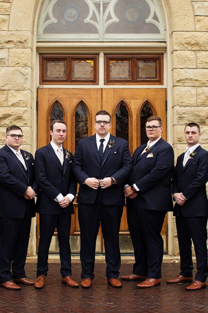 meaghann travis cog hill golf & country club chicago, il wedding groom and groomsmen