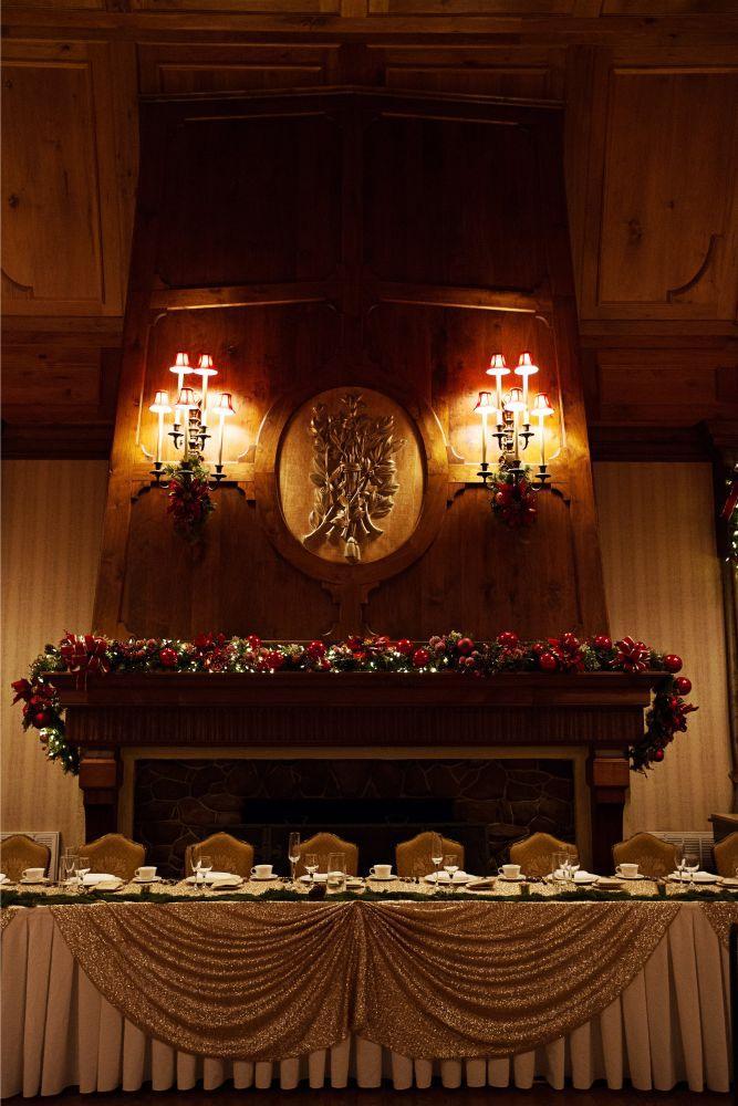 meaghann travis cog hill golf & country club chicago, il wedding reception decor