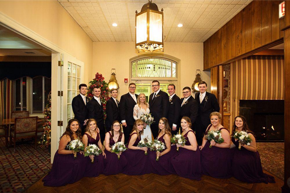 meaghann travis cog hill golf & country club chicago, il wedding bridal party