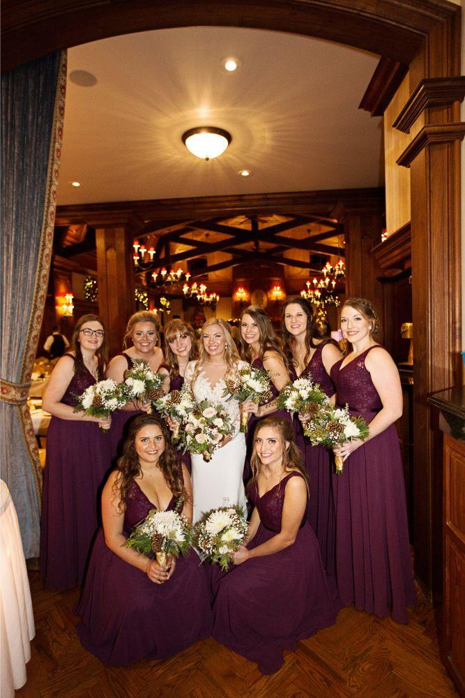 meaghann travis cog hill golf & country club chicago, il wedding bride bridesmaids