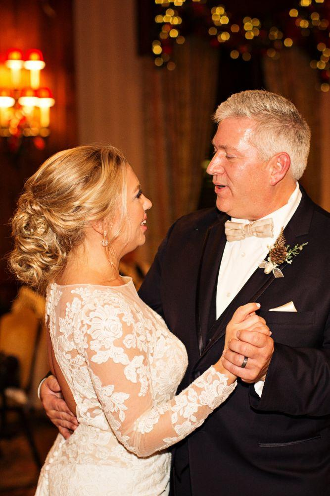 meaghann travis cog hill golf & country club chicago, il wedding father daughter dance