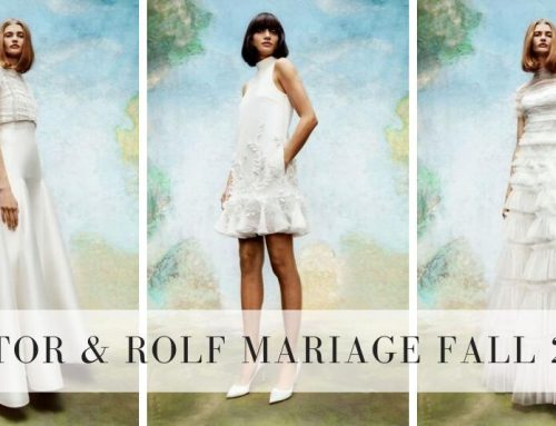 Viktor & Rolf Mariage Fall 2020 Collection