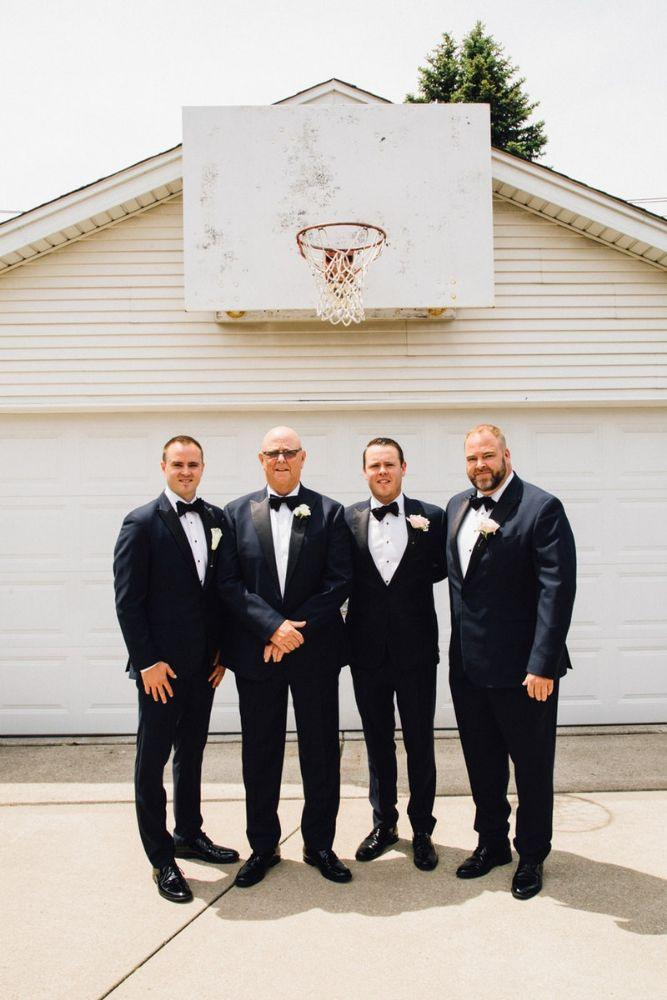 kelly nick local love the beverly country club chicago, il wedding groom and groomsmen