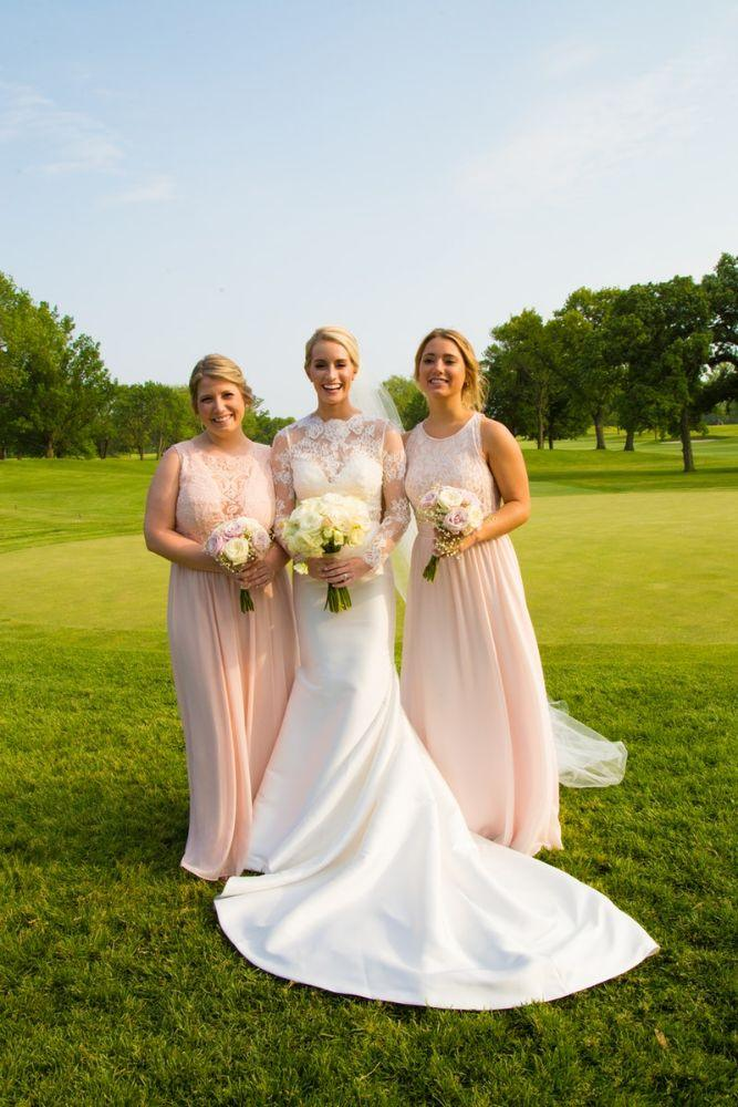 kelly nick local love the beverly country club chicago, il wedding bridesmaids and bride