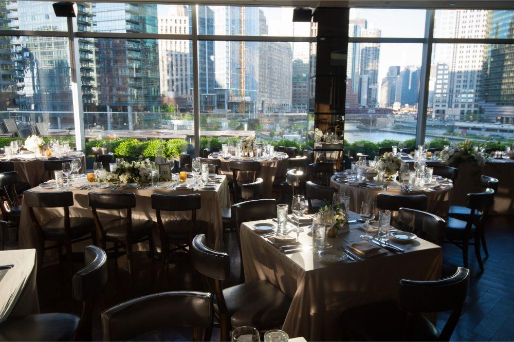 jana matt gibsons steakhouse chicago, il wedding reception