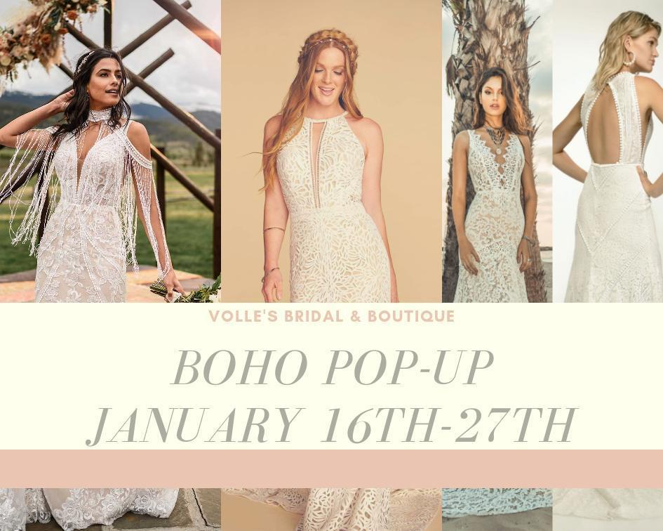 Boho Pop Up - Volle's - January 2020
