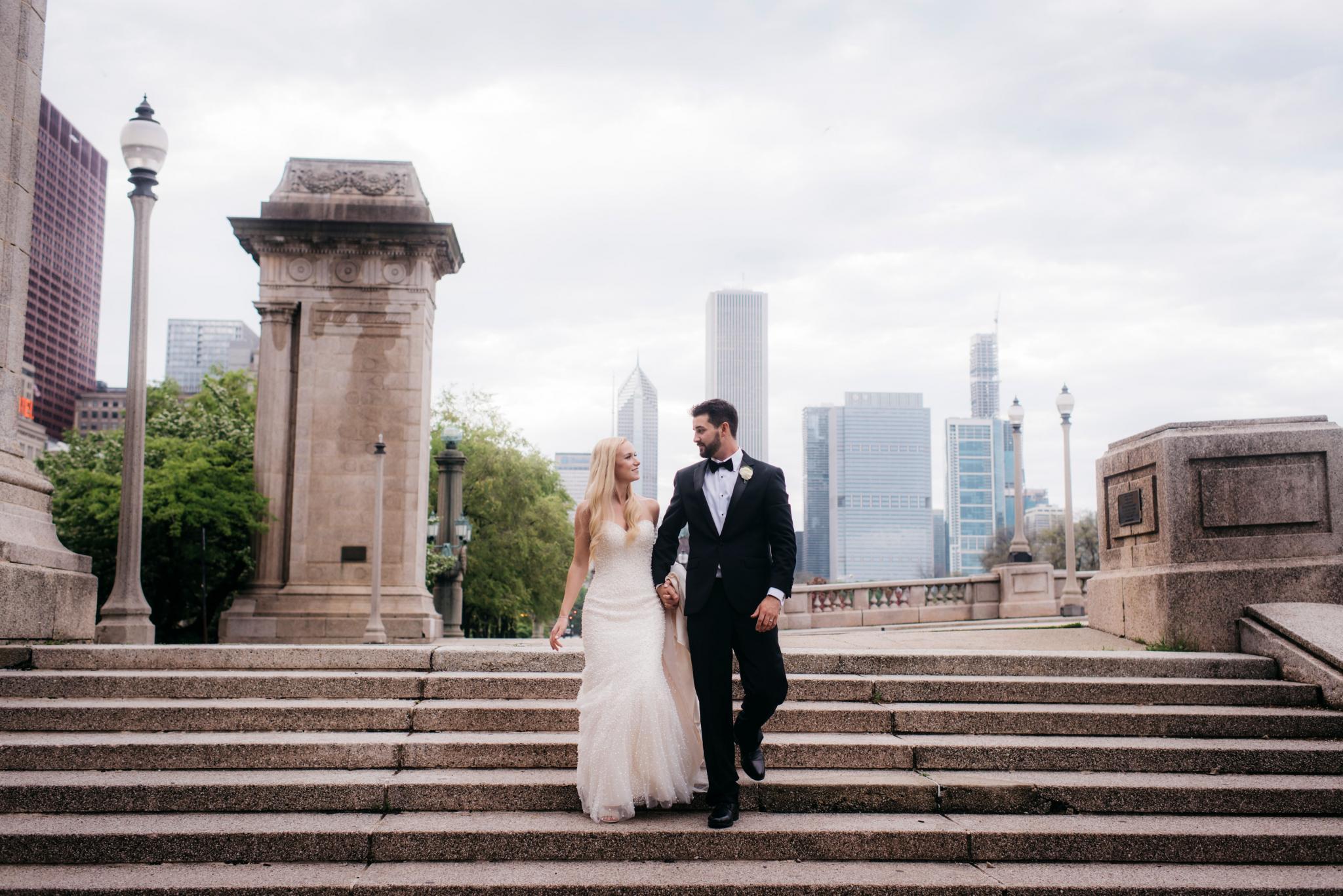 annie tommy venue SIX10 chicago, il wedding