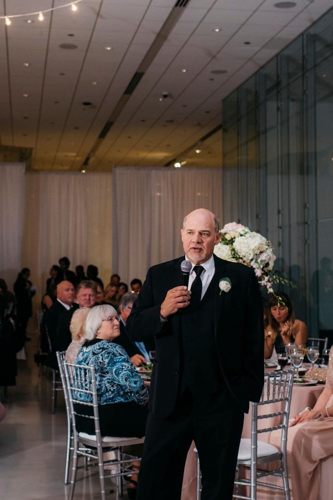 annie tommy venue SIX10 chicago, il wedding toast