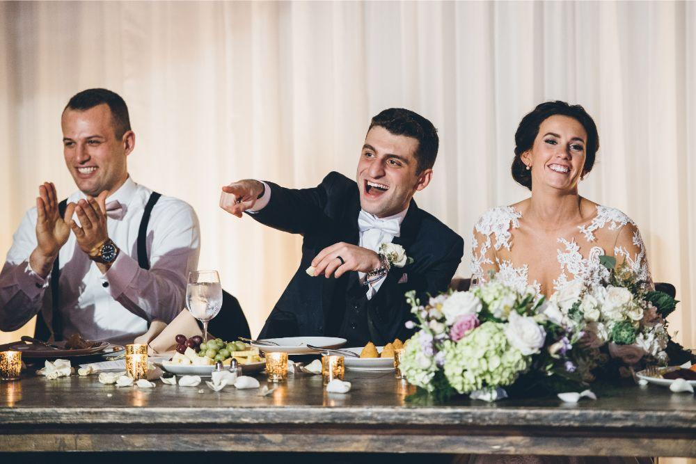 kelly alex local love skyline loft chicago, il wedding toasts