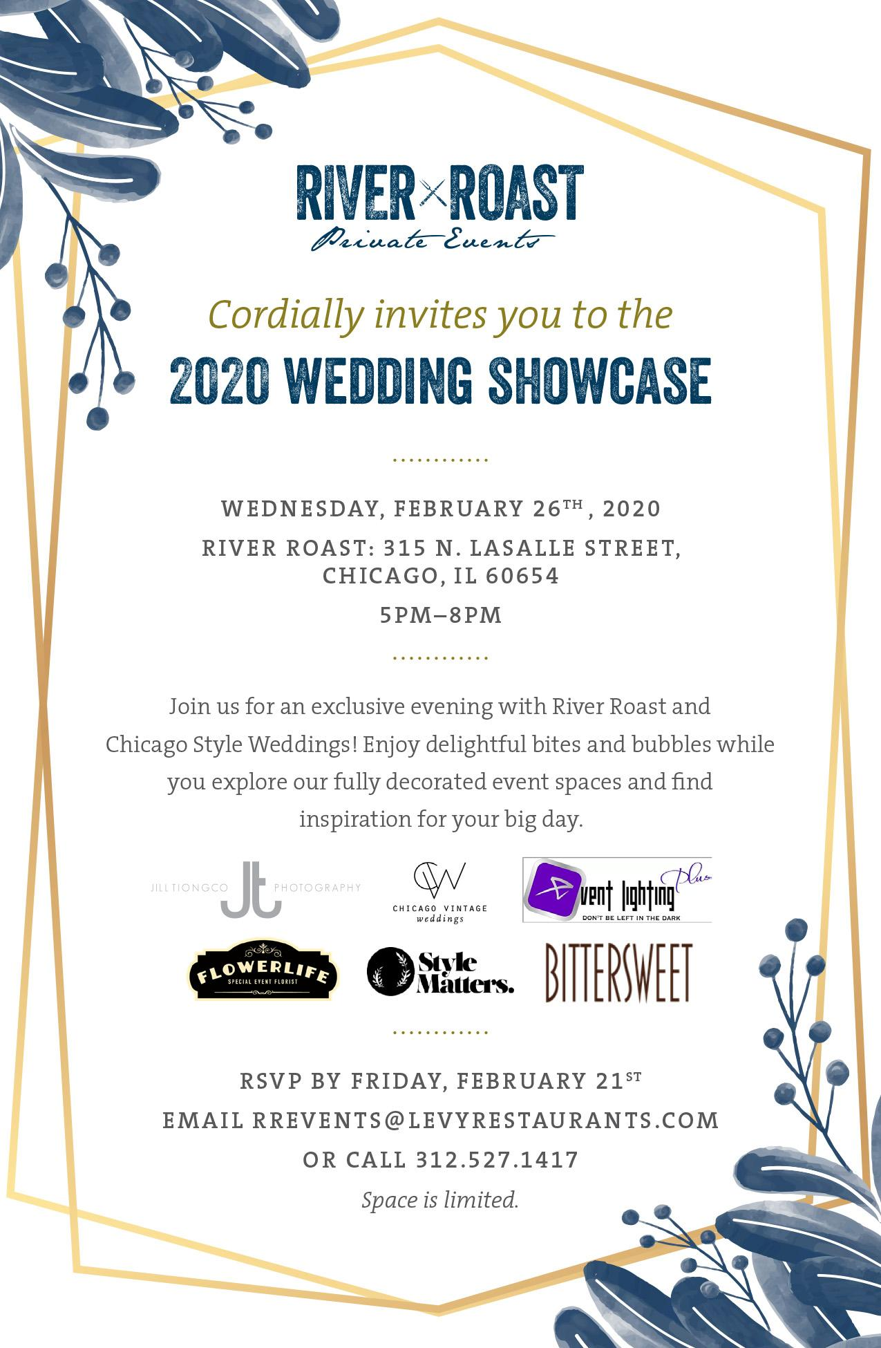 River Roast Wedding Showcase Feb 2020