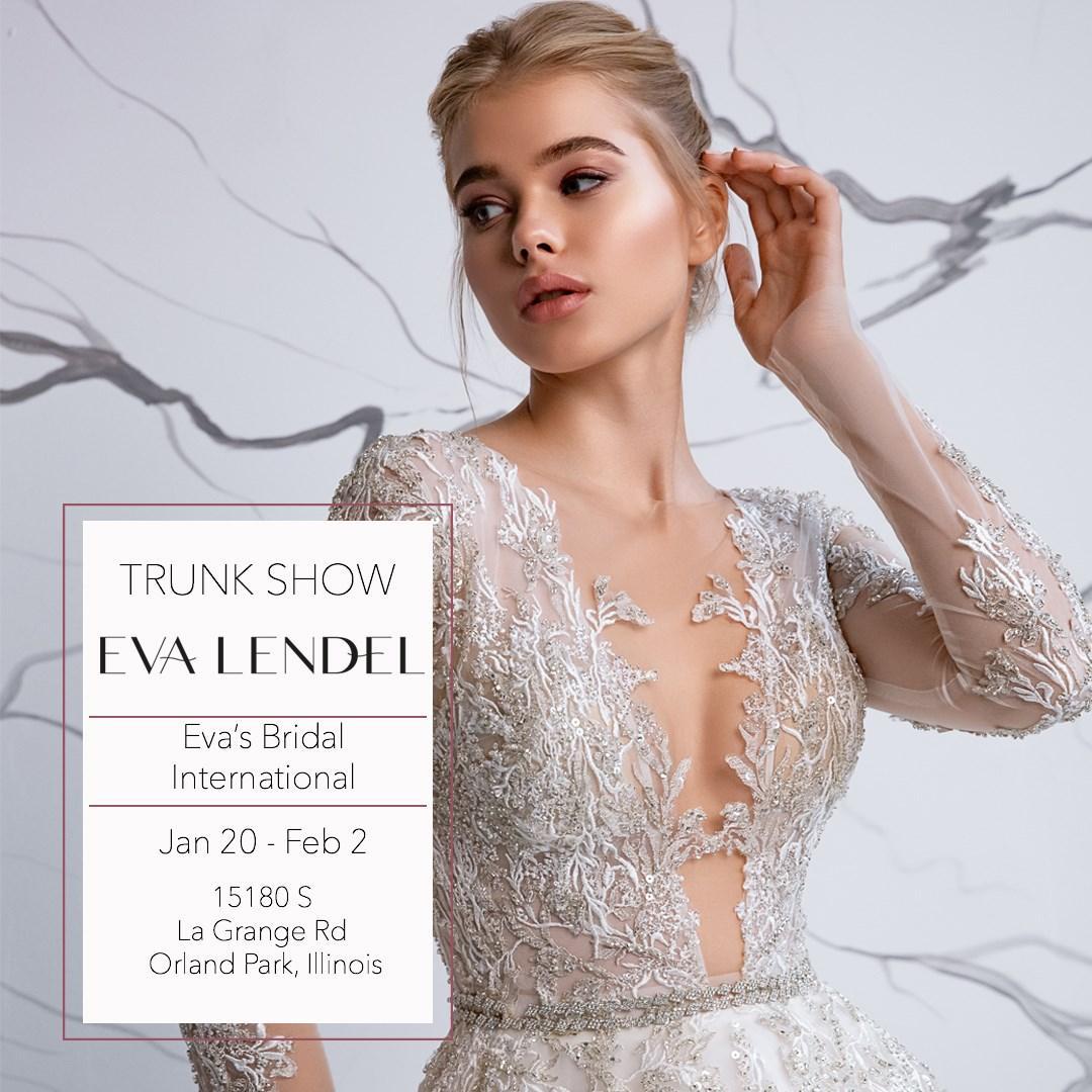Eva Lendel at Eva's Bridal International - january 2020