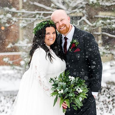 Kayla & Dan Real Wedding at The Great Hall at The Onion | Amanda Megan Miller Photography