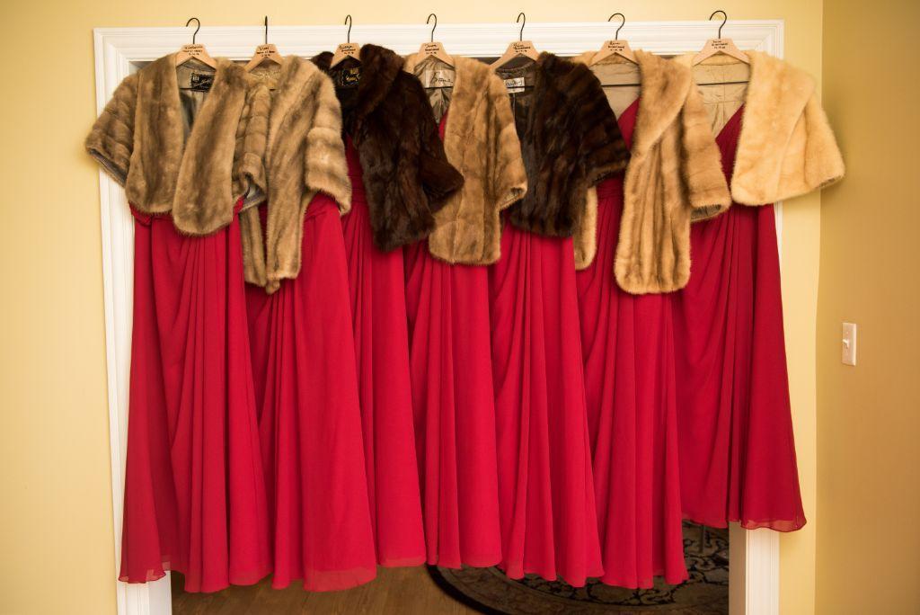 elizabeth kevin local love makray memorial golf club chicago, il bridesmaids dresses