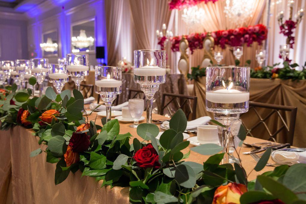 reception decor halisa sead local love drury lane theatre chicago, il