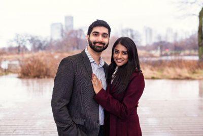 maya & amit perfect proposal chicago, il