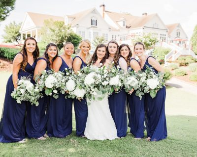 Woodmont Golf and Country Club | Canton, Georgia | Bride and Bridesmaids