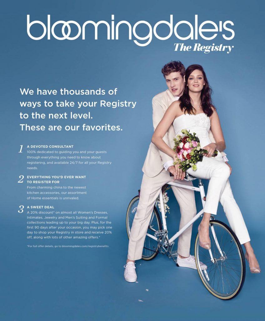Welcome To The Bloomingdale's, The Registry
