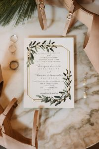 Artistic Blooms: Vintage Botanical Wedding Inspiration
