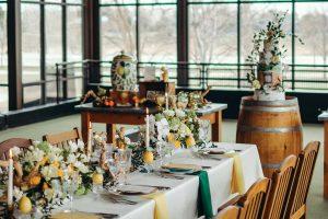 Fresh Rustic Romance | Citrus Wedding Inspiration | Designers Challenge
