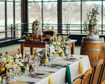 Fresh Rustic Romance   Citrus Wedding Inspiration   Designers Challenge
