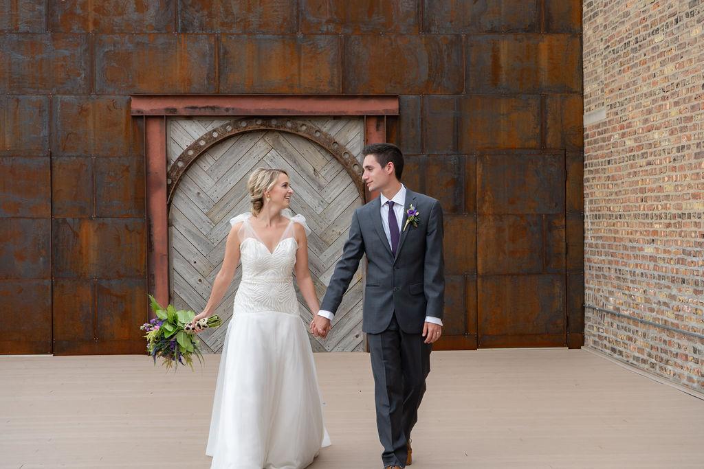 Midnight Blue and Purple Boho Celestial Wedding Inspiration