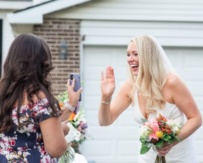 Covid-19 at home wedding | intimate ceremony | pandemic wedding