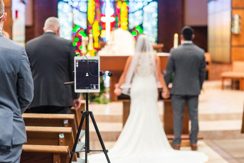Covid-19 wedding   intimate ceremony   pandemic wedding   Zoom wedding