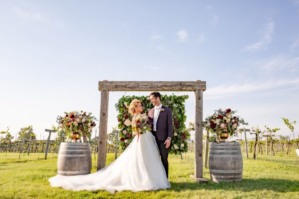 Aquaviva Winery Wedding Inspiration | Vineyard