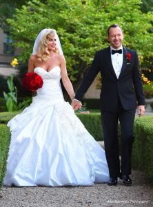 Donnie Walhberg Jenny McCarthy Wedding 9