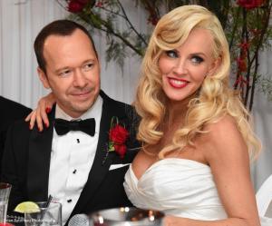 Donnie Walhberg Jenny McCarthy Wedding 15
