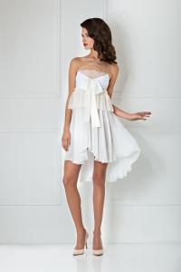 Lace and Chiffon Night Dress